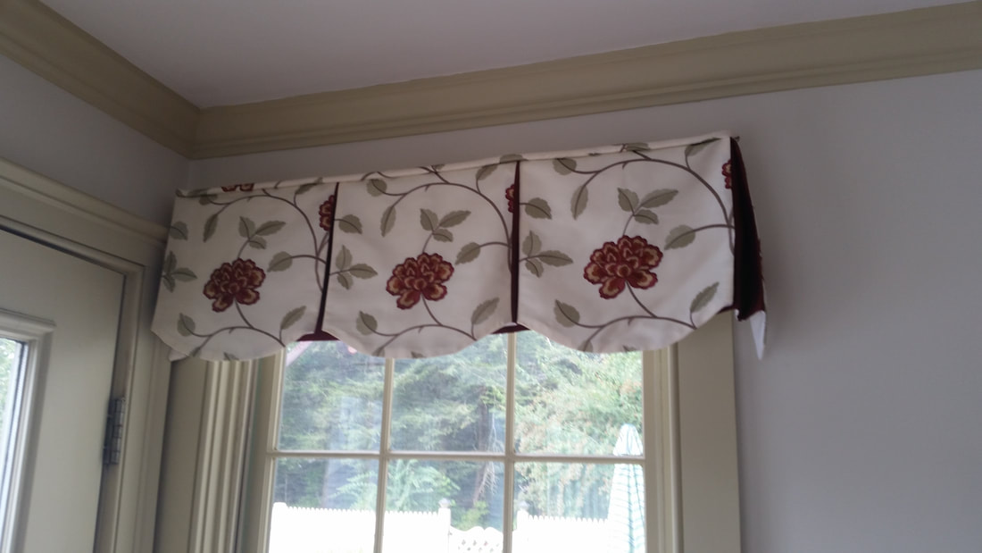 Superieur ... Chic Landry Home Decorating Has A Wide Variety Of Custom Valances For  Your Home Or Business. Pictured Below Are Custom Valances That Are  Embroidered ...