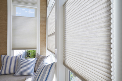 Exceptionnel  Landry Home Decorating Has A Wide Range Of Hunter Douglas Shades For Sale,  Including Honeycombs, Roman Shades And More.