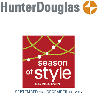 Hunter Douglas Season of Style Promo