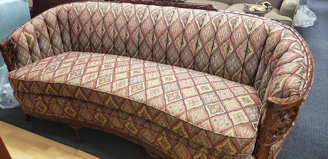 Antique Reupholstering