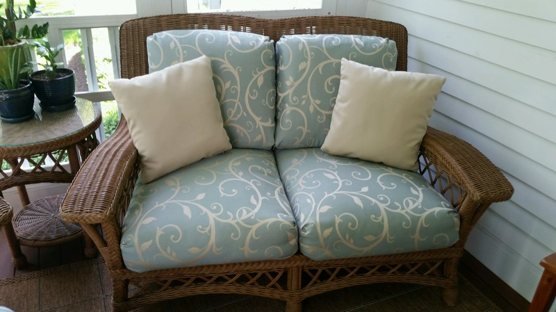 Rattan Furniture Reupholstering